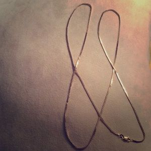 "Jewelry - 14k 31"" Flexible Herringbone Chain FINAL"